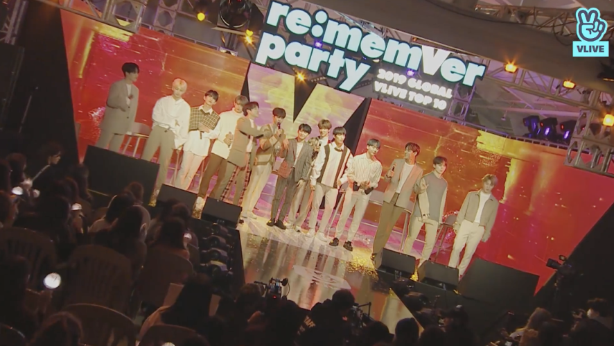 SEVENTEEN re:memVer party [FULL] 2019 GLOBAL VLIVE TOP 10