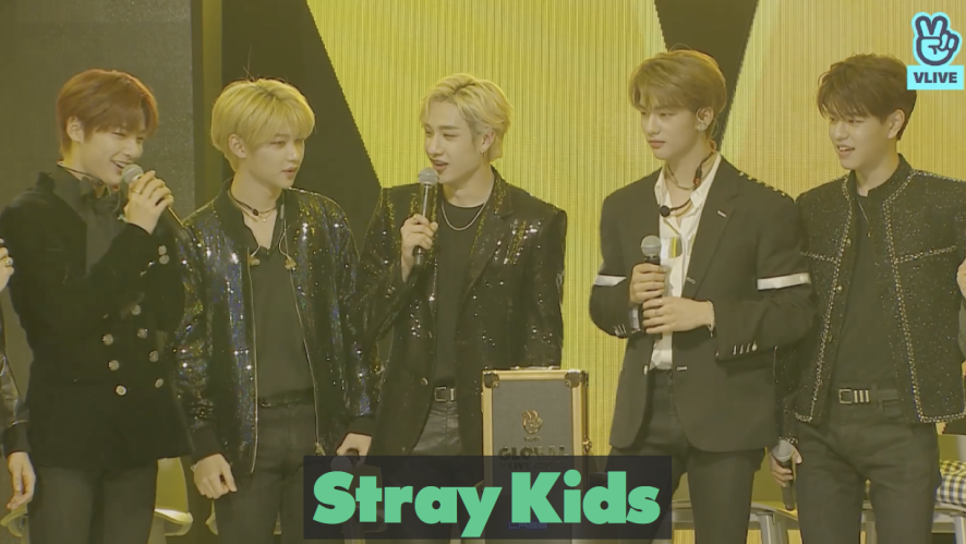 Stray Kids re:memVer party / 2019 GLOBAL VLIVE TOP 10 ROOKIE STAGE