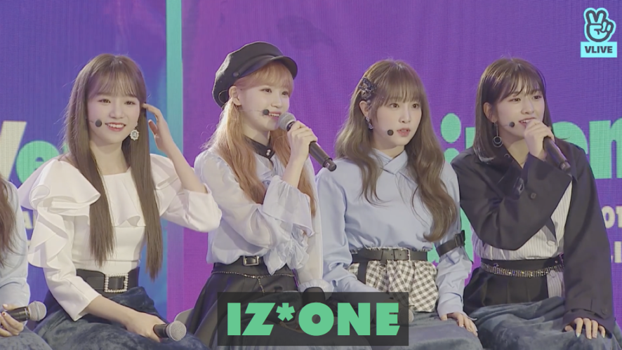 IZ*ONE re:memVer party / 2019 GLOBAL VLIVE TOP 10 ROOKIE STAGE