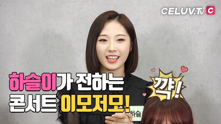 [I'm Celuv] 이달의 소녀, 하슬이가 소개 하는 콘서트 후기! (Celuv.TV)
