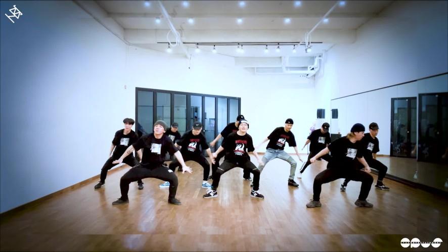 열혈남아(HBY) - '지구뿌셔(BBANG)' 안무영상 (DANCE PRACTICE)