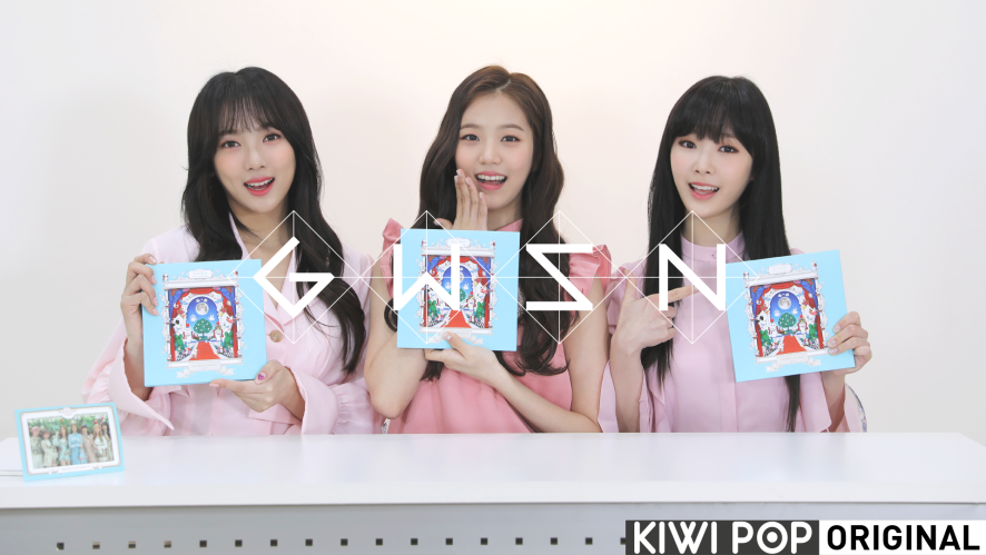 [GWSN VIDEO] 공원소녀(GWSN) - '밤의 공원(THE PARK IN THE NIGHT) part two' Album Unboxing