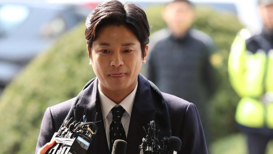 [풀영상] ′버닝썬 폭행 사건′ 김상교 피의자 신분으로 경찰 출석