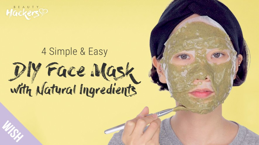 4 DIY Face Mask with 100% Natural Ingredients for Clear Skin| Beauty HACKers