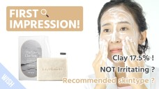 Perfect Sebum Removal By Cleansing Twice a Week with ClayㅣJUNGLE BOTANICS The Ecru Clay Soap