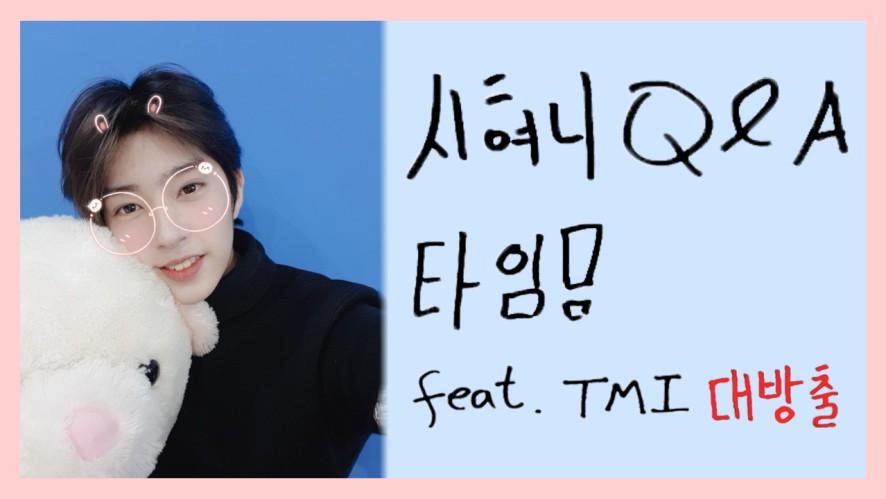 시현이 Q&A 타임!
