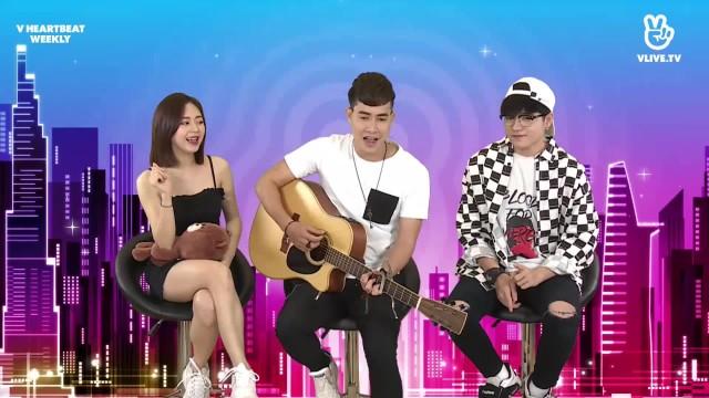 Thanh Hưng hát Đúng người đúng thời điểm - V HEARTBEAT WEEKLY