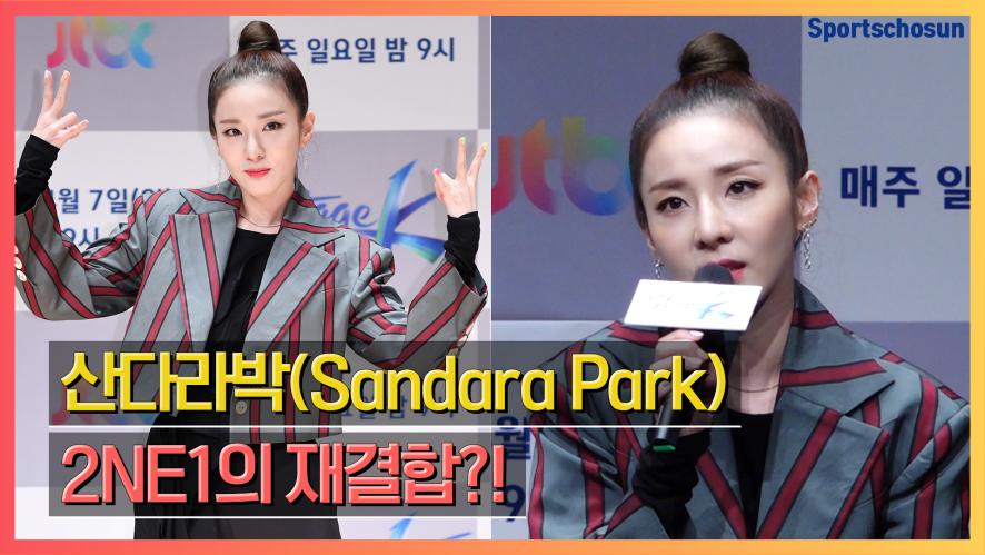 """산다라박(Sandara Park) """"2NE1 뭉칠 수 있지 않을까 싶어"""" (스테이지K)"""