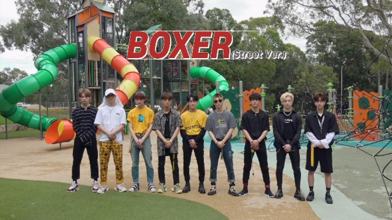 "Stray Kids(스트레이 키즈) ""Boxer"" Video (Street Ver.)"