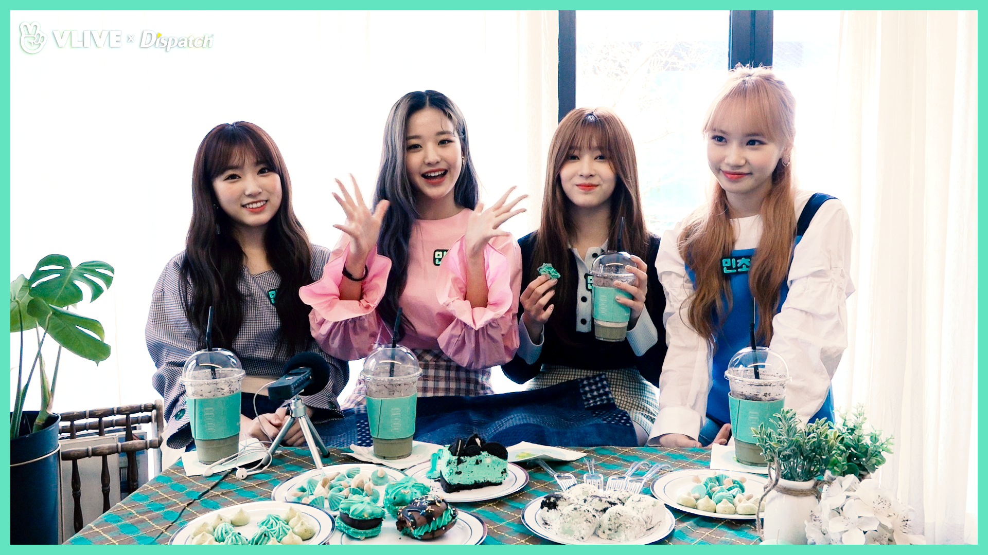 "[ⓓxV] ""새 멤버를 공개합니다!"" (나코, 원영, 민주, 채원 : IZ*ONE)"