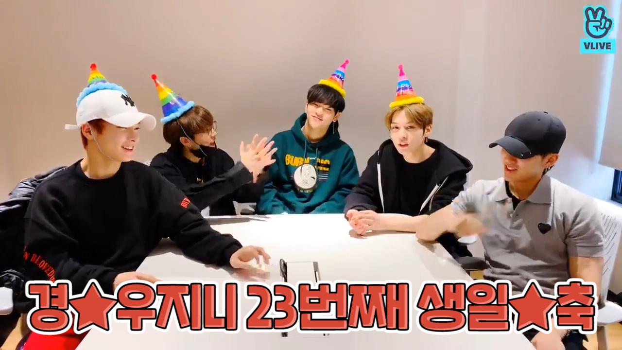 [Stray Kids] 🐻곰우지니 생일파티엔 치킨🍗이 가득하다면서요? (HAPPY WOOJIN DAY!+1)