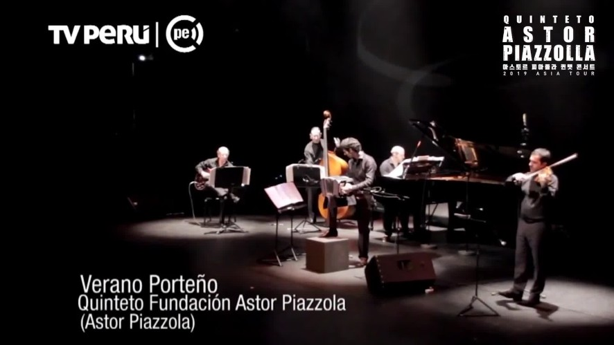 1minute Preview_Quinteto Astor Piazzolla Concert in Korea_Verano Porteno