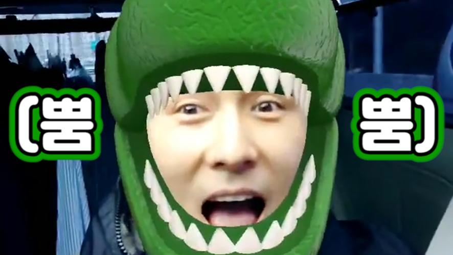 [KIM DONG WAN] 큐티뎅이 너무 귀엽다는 보고🦖 (So cute KIM DONG WAN)