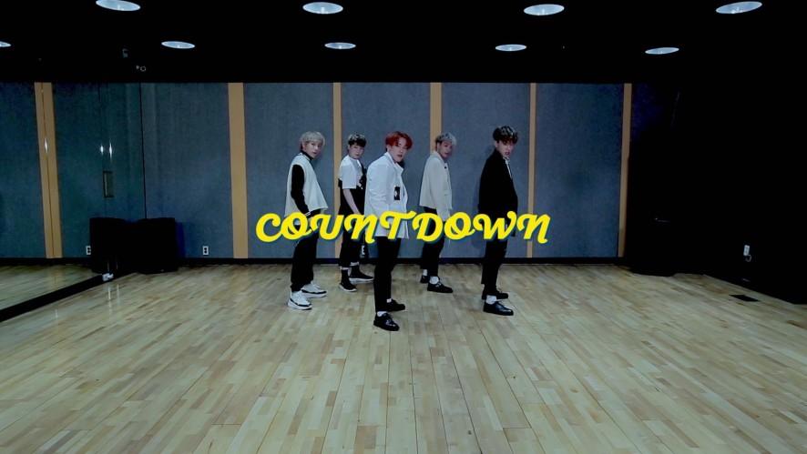 "1TEAM(원팀) - ""COUNTDOWN"" 안무영상(Dance Practice)"