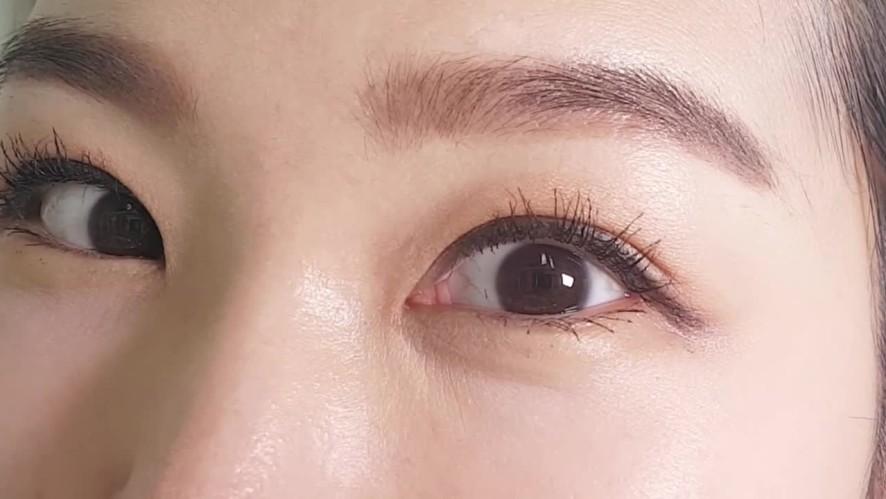 [1분팁] 동글동글 강아지눈매 만들기 Making round puppy-like eyes