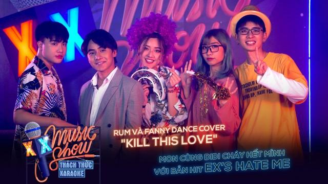 [XXMS] Thách thức Karaoke - Tập 1: Mon và Rum bùng nổ với bản hit Ex's Hate Me, Mượn Rượu Tỏ Tình