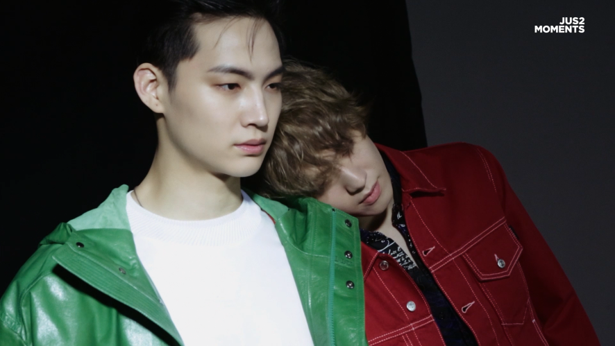 Jus2(저스투) MOMENTS_06 MAGAZINE PHOTOSHOOT BEHIND PART.1