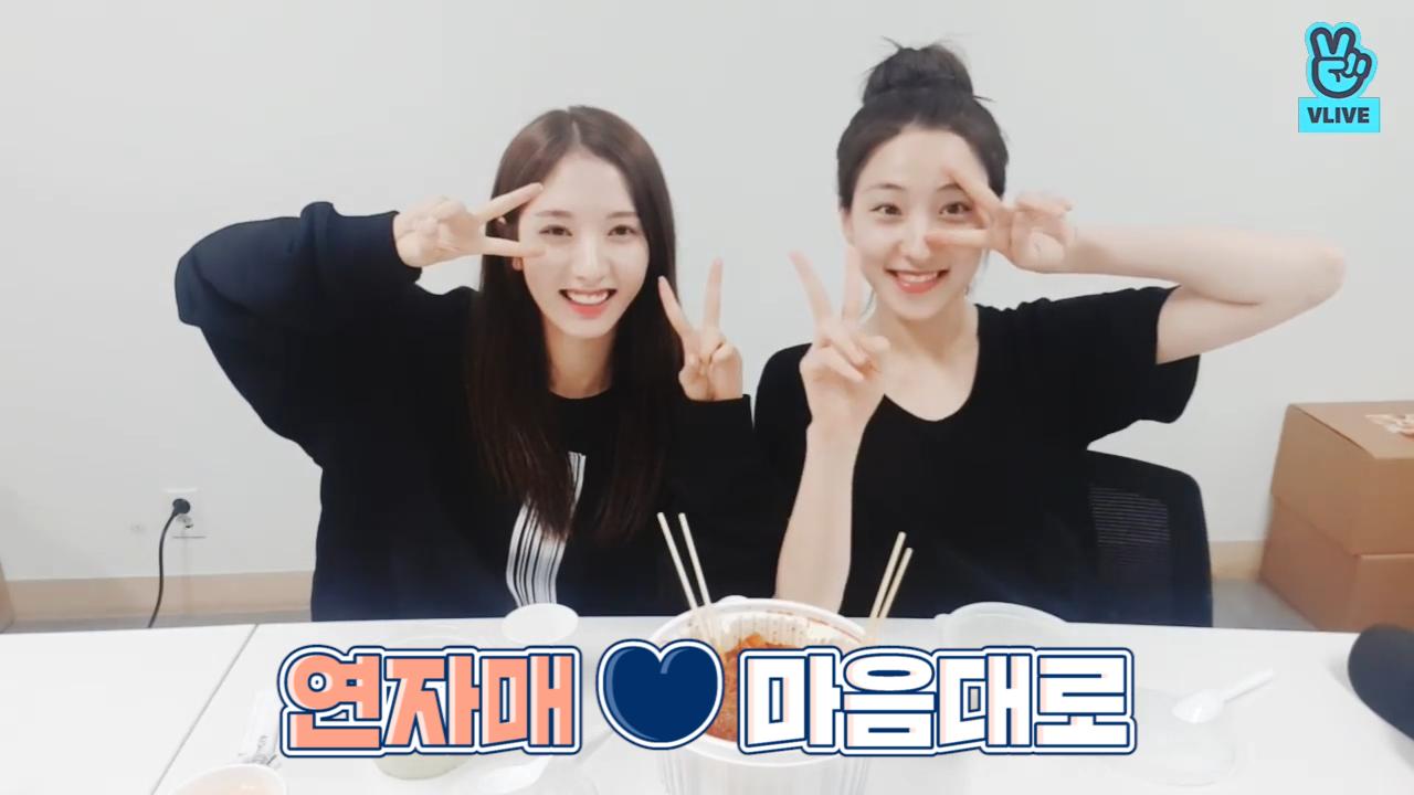 [WJSN] 🕺연자매 좋아서 덤블링 엄↗청 하는 사람 있죠 그게 저예요🕺 (Bona&Eunseo's eating show)