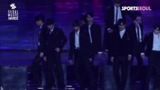 [단독영상]워너원(Wanna One), 겨울 녹이는 감성 무대 직캠 '제28회 서울가요대상'