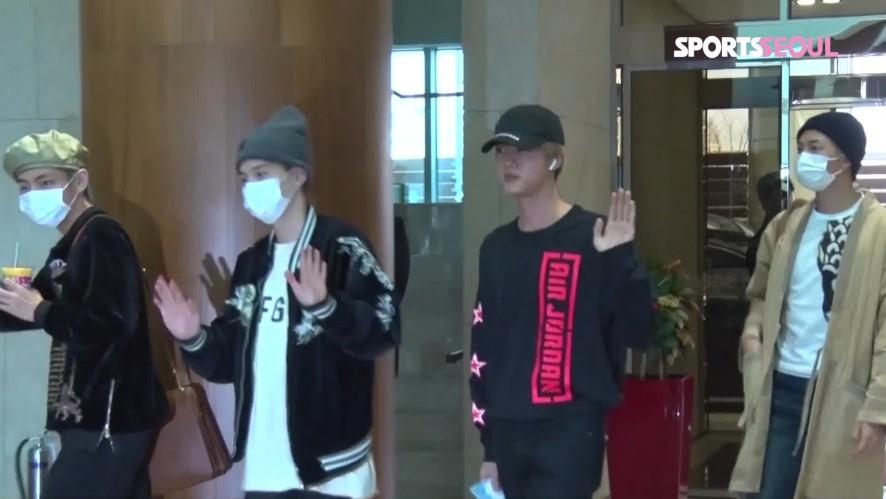 방탄소년단 뷔(BTS V), 지구에서 빵모자가 제일 잘 어울리는 남자 (김포공항)