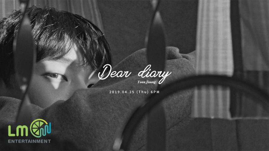 윤지성(Yoon Jisung) - Special Album'Dear diary' Trailer