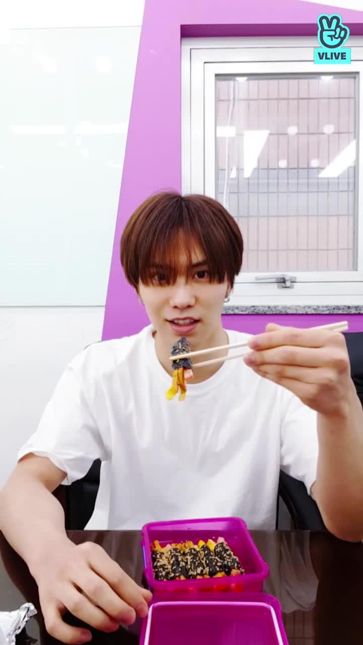 라키의 먹방 (엄마 김밥)
