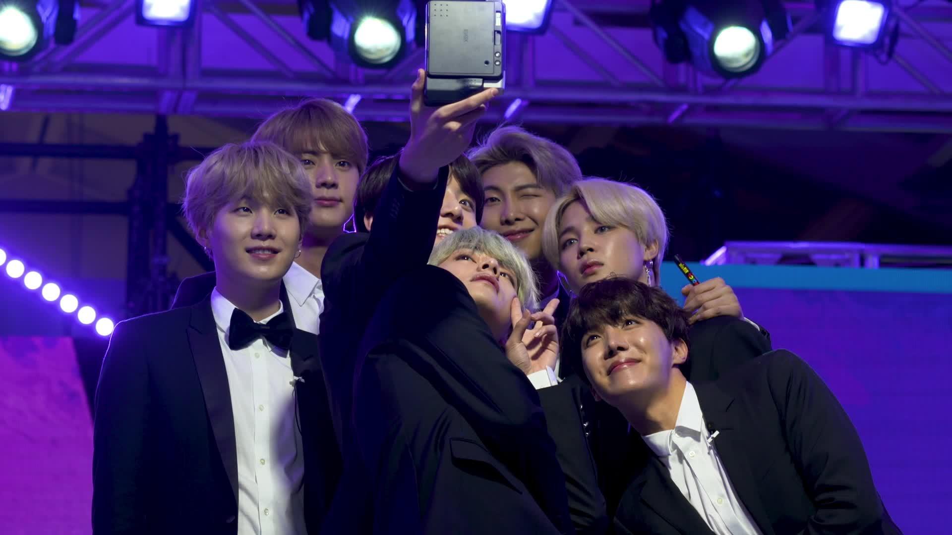 BTS 리멤버파티 시상식 메이킹 [re:memVer again] / 2019 GLOBAL VLIVE TOP 10