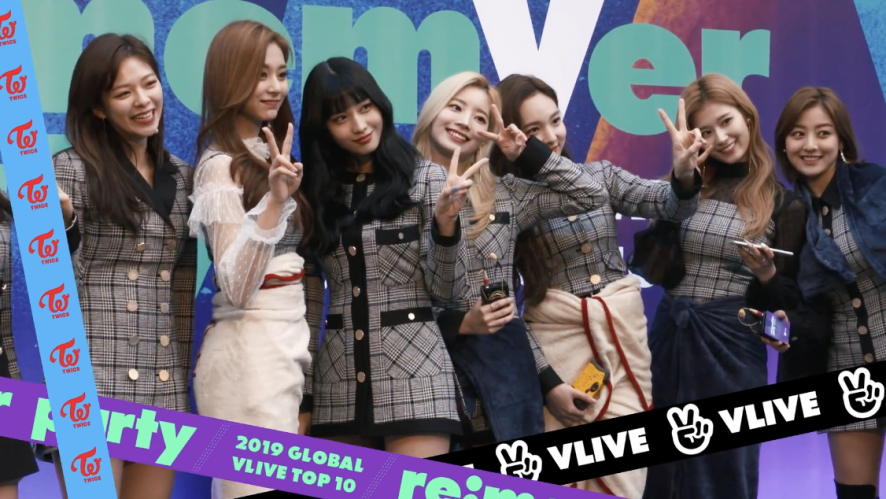 TWICE re:memVer party Making Film <re:memVer again> / 2019 GLOBAL VLIVE TOP 10