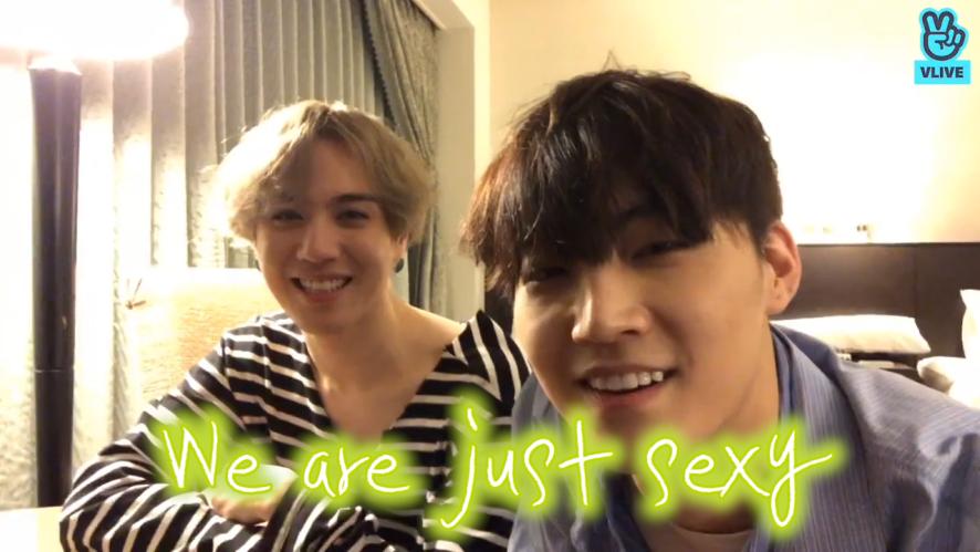 [GOT7] 위알낫큩! 저스트섹시-⭐️ But, 본투비큐트뽐겸의 스포나잇 (Jus2 talking with fans)
