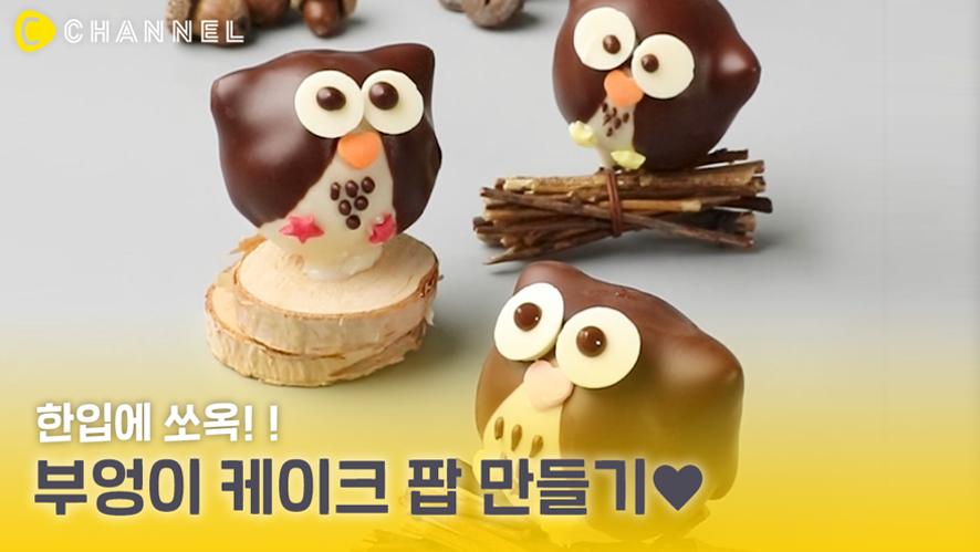 Cooking cake pop an owl 🦉