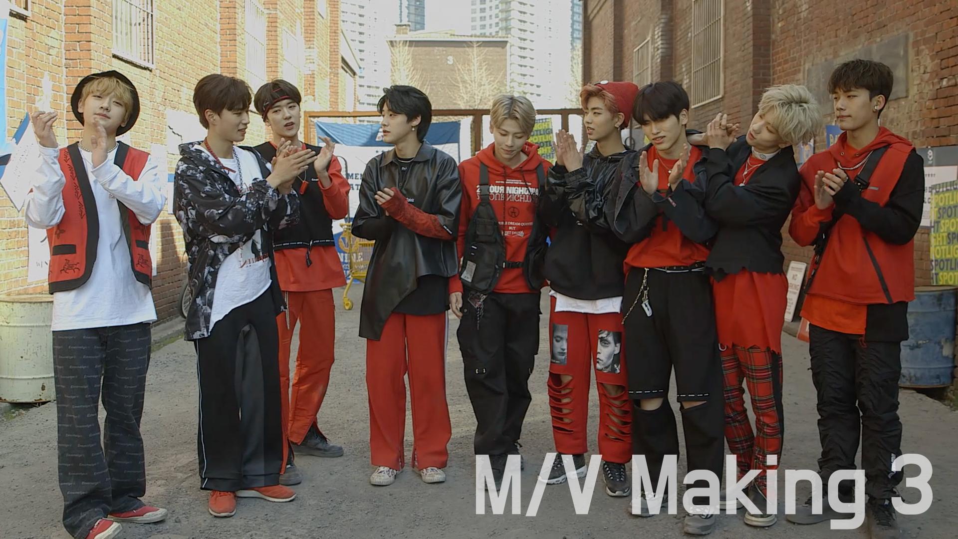 [단독]원더나인(1THE9) - 1st MINI ALBUM 'XIX' Music Video Making 3