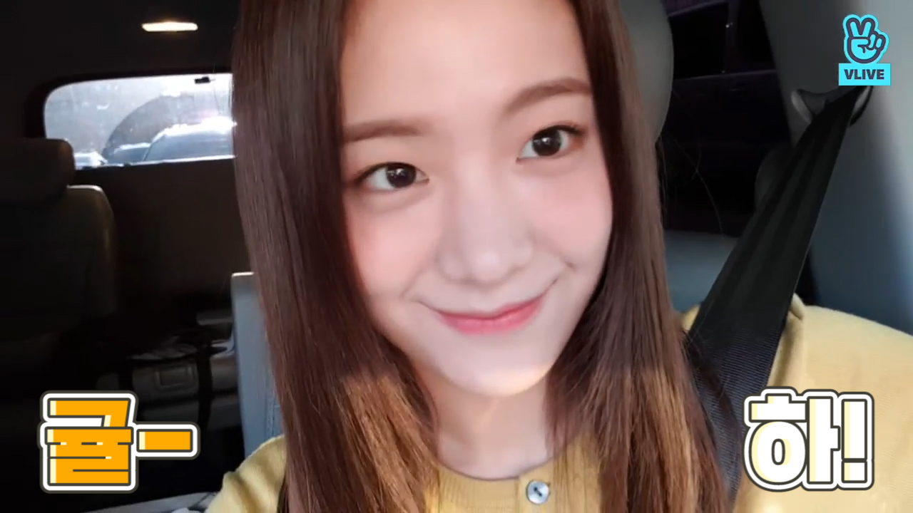 [fromis_9] 다정뿜뿜 규리선배 보고 월요병이 완치됐습니다🍊💕 (Gyuri reading fan's comments)