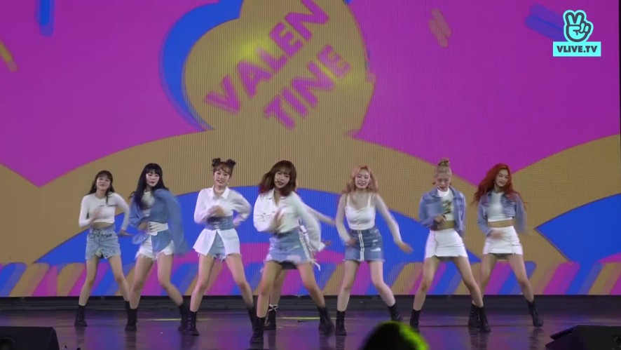 [Focused camera] - WEKI MEKI - TRUE VALENTINE  - V HEARTBEAT LIVE APRIL 2019