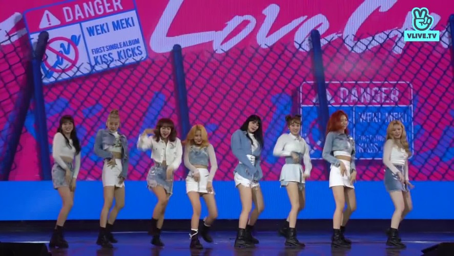 [Focused camera] - WEKI MEKI - CRUSH - V HEARTBEAT LIVE APRIL 2019
