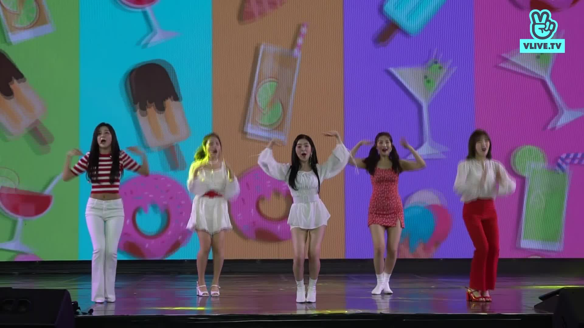 [Focused camera] - RED VELVET - POWER UP - V HEARTBEAT LIVE APRIL 2019