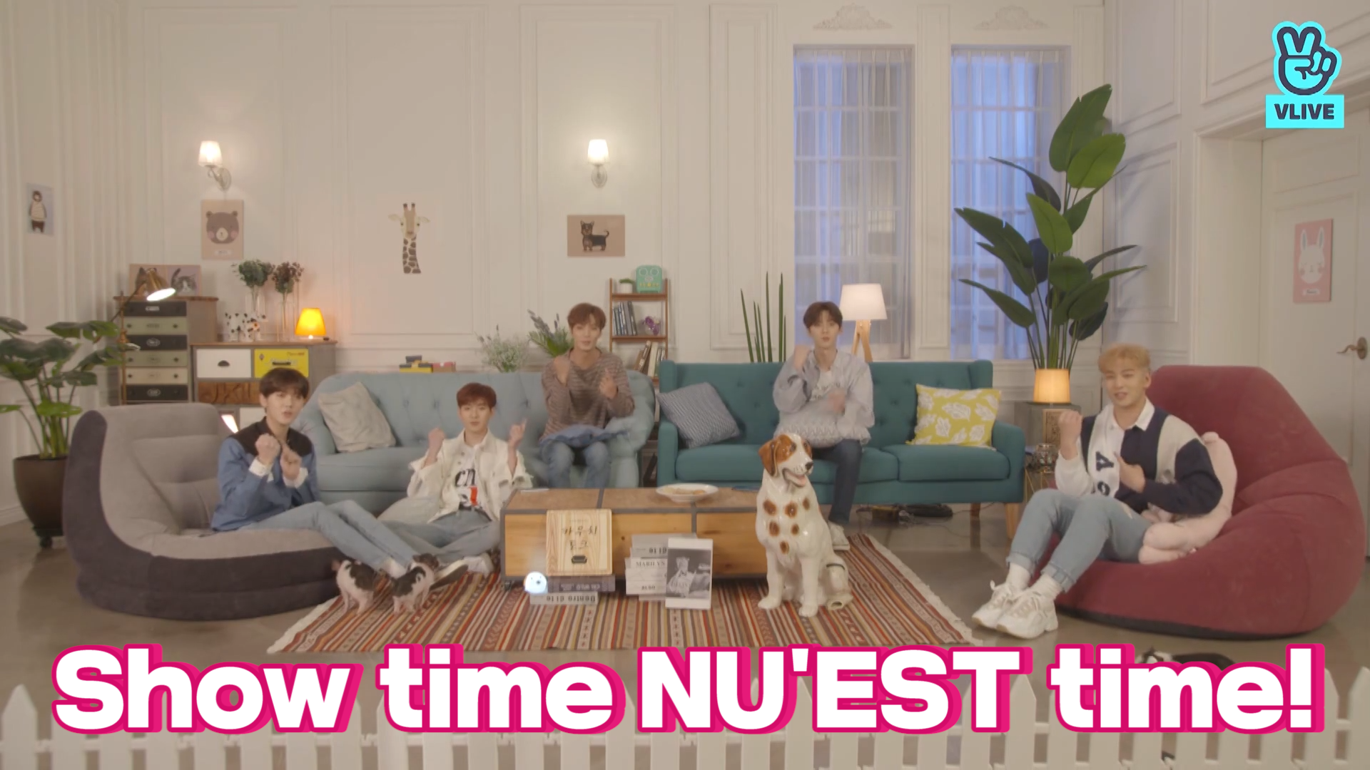 [NU'EST] 다섯명의 화백과 해필리 에버 애프터,,,🐷☘️ (NU'EST's comeback V!)