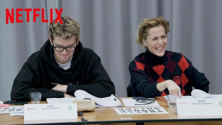 [Netflix] 오티스의 비밀 상담소 - 시즌 2 첫 대본 리딩 현장