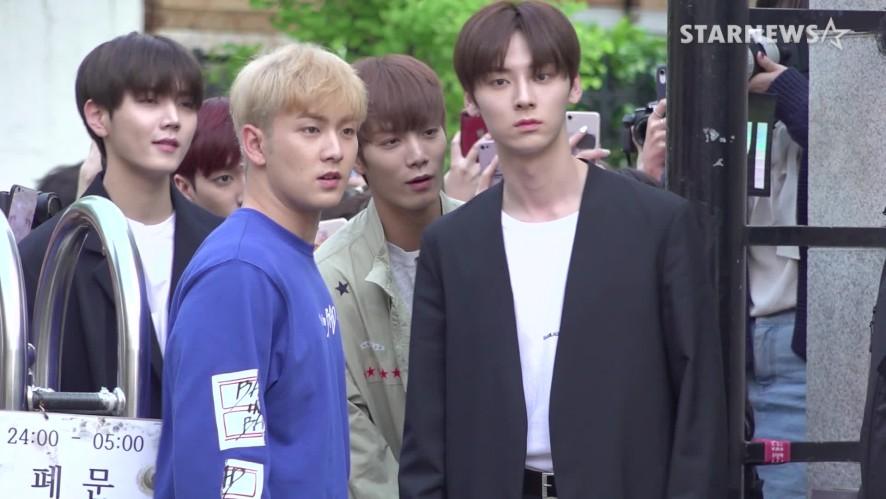★뉴이스트(NU'EST)  출근길 ( 뮤직뱅크, 20190503)