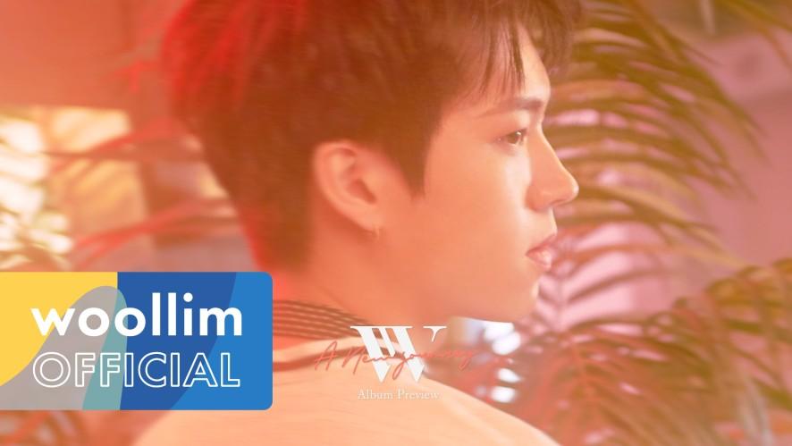 """남우현(Nam Woo Hyun) """"A NEW JOURNEY"""" Album Preview"""