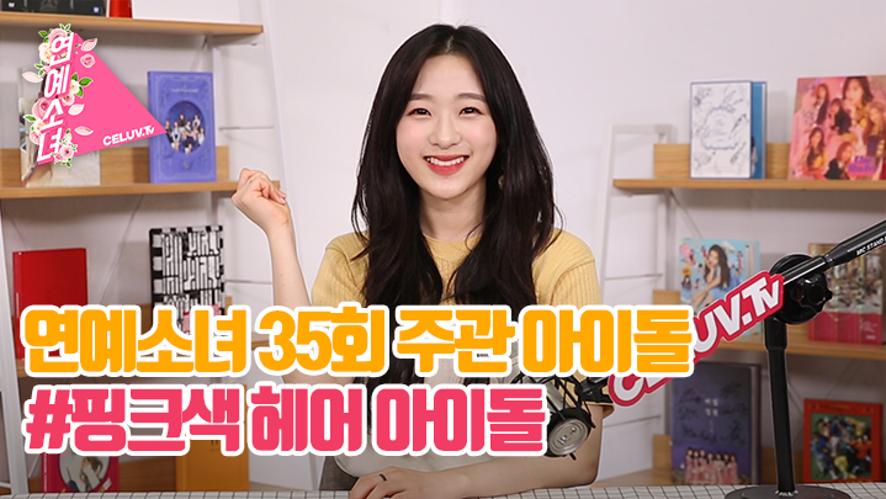 [ENG SUB/연예소녀] EP35. 주관아이돌 - 핑크머리 남자 아이돌 (Celuv.TV)