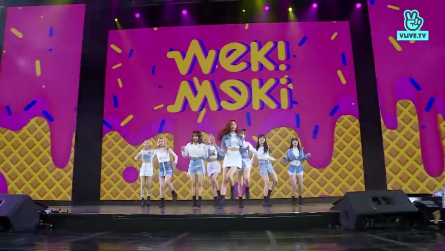Weki Meki - Crush & True Valentine - V HEARTBEAT LIVE APRIL 2019