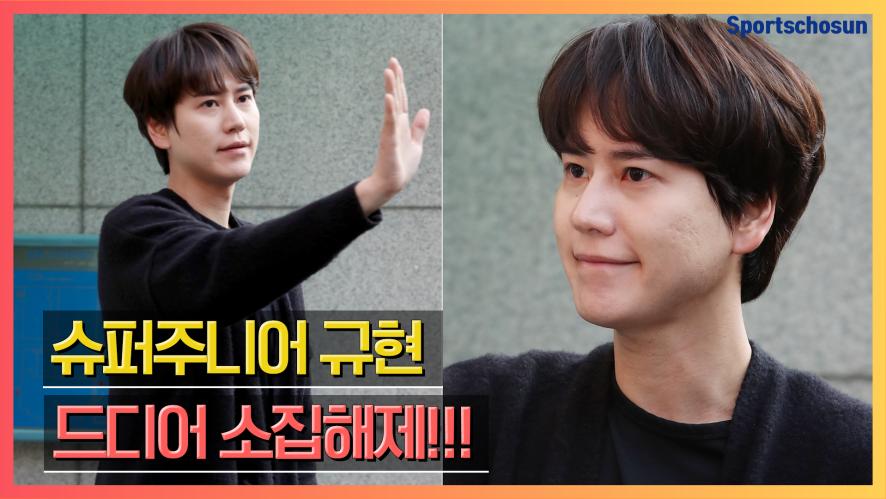 슈퍼주니어 규현(Super Junior Kyuhyun) '엘프 많이 기다렸죠?'