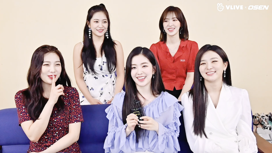 Red Velvet 레드벨벳 in Vietnam '대기실 인터뷰'