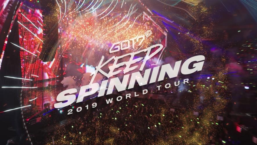 GOT7(갓세븐) 2019 WORLD TOUR 'KEEP SPINNING' TRAILER