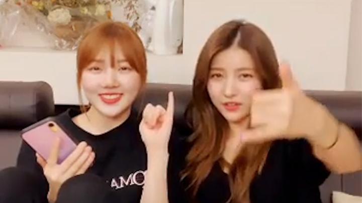 [GFRIEND] 여치니들 보고 웃다가 잇몸 악건성 진단받은 사연😁 (Sowon&Yerin talking about pinky swear)