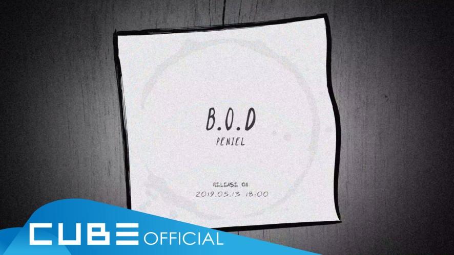 프니엘 (PENIEL) - 'B.O.D' Audio Teaser