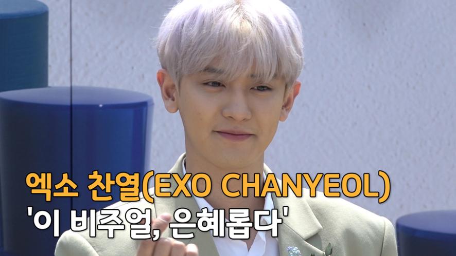 엑소 찬열(EXO CHANYEOL), '이 비주얼, 은혜롭다'