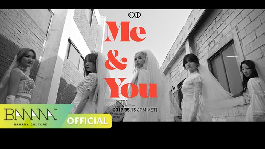 [MV TEASER#1] EXID(이엑스아이디) - 'ME&YOU'