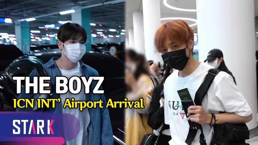 더보이즈 입국, 한국 더비들 우리 왔어요~ (The Boyz, 20190513_ICN INT' Airport Arrival)