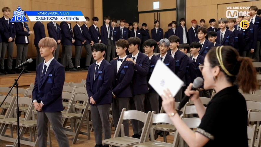 V LIVE - [PRODUCE X 101] NAVER SPECIAL V LIVE 'COUNTDOWN X' BEHIND
